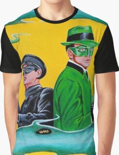 THE GREEN HORNET AND KATO Graphic T-Shirt