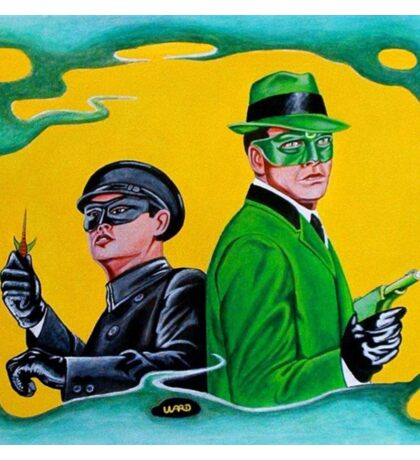 THE GREEN HORNET AND KATO Sticker
