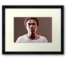 childish gambino Framed Print