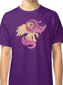 Fluttershy-One with Nature Classic T-Shirt
