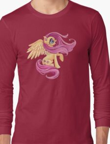 Fluttershy-One with Nature Long Sleeve T-Shirt