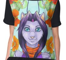 Fey Kitty Chiffon Top