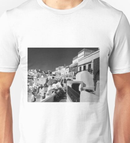 Walkways & Homes ~ Black & White Unisex T-Shirt