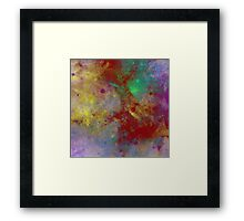 Through The Haze Of Colour Framed Print