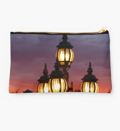 Lights and Sunset Studio Pouch