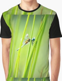 Dragonfly by Pond #2  Graphic T-Shirt