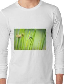 Dragonfly by Pond #2  Long Sleeve T-Shirt