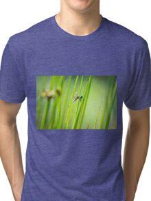 Dragonfly by Pond #2  Tri-blend T-Shirt