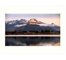 Lake Hayes - Queenstown - New Zealand Art Print