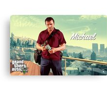 GTA 5 MICHAEL Canvas Print
