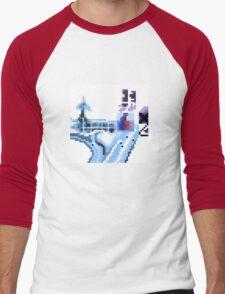 OK Computer Pixel Art Men's Baseball ¾ T-Shirt