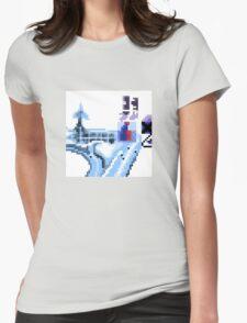 OK Computer Pixel Art Womens Fitted T-Shirt