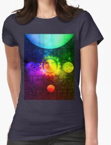 Putin Sun God Womens Fitted T-Shirt