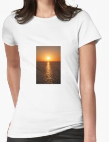 Ocean Sunset - iPhone Case Womens Fitted T-Shirt