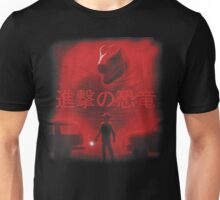 Attack on Dinosaur (Red) Unisex T-Shirt