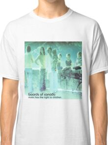 boards of canada music has the right to children Classic T-Shirt