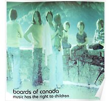 boards of canada music has the right to children Poster