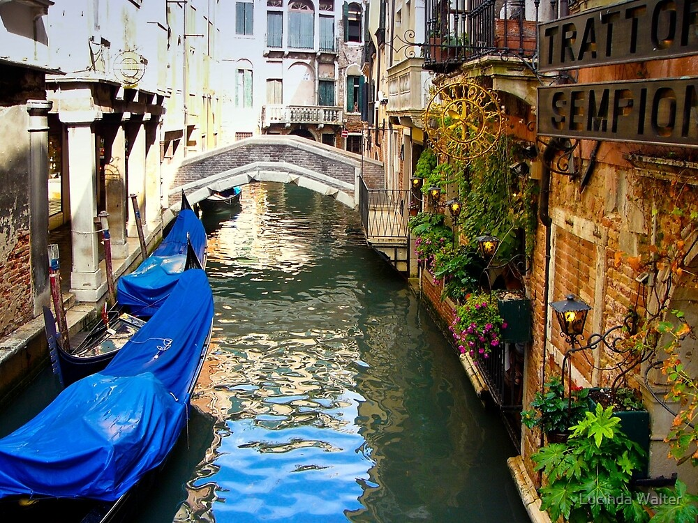 Venice Canal by Lucinda Walter