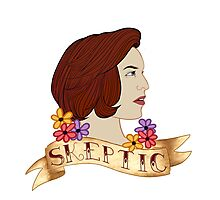 scully the skeptic Photographic Print
