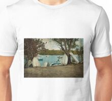 Row of Row Boats Unisex T-Shirt