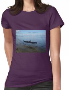 Boat on Stilts Womens Fitted T-Shirt