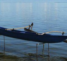 Boat on Stilts Sticker
