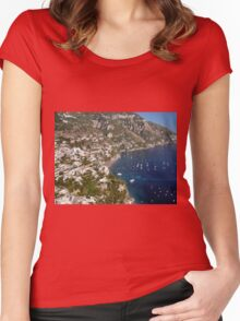 The City on the Coast Women's Fitted Scoop T-Shirt