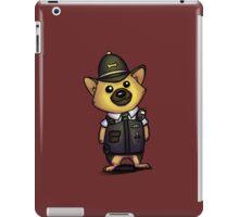 German Shepherd Cop 1 iPad Case/Skin