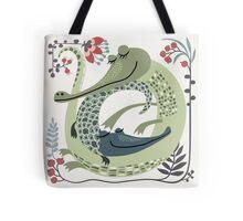 Crocodile love Tote Bag