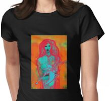 Blue Girl Womens Fitted T-Shirt