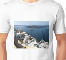 Caldera at Santorini Greece Unisex T-Shirt