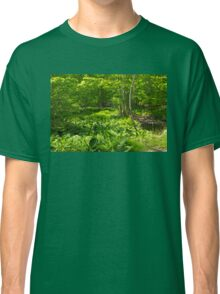 Green Landscape of Summer Foliage Classic T-Shirt