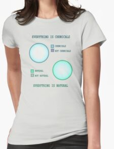 Everything is. Womens Fitted T-Shirt