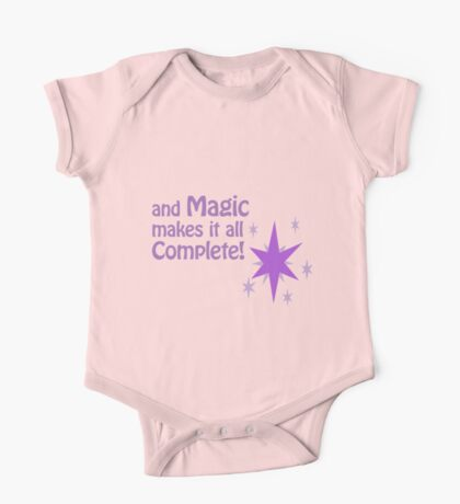Quotes and quips - magic makes it all complete One Piece - Short Sleeve