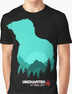 Uncharted 4: A Thief's End Graphic T-Shirt