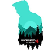 Uncharted 4: A Thief's End Photographic Print