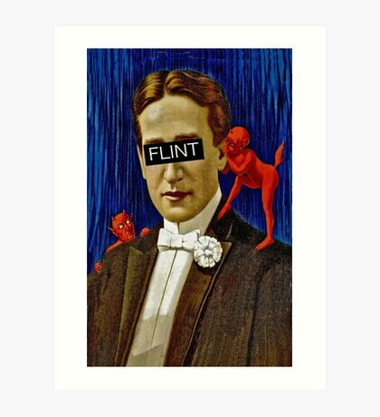 Tempted Flint Art Print