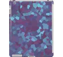 Blue and Purple Crystals iPad Case/Skin