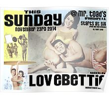 Love Bettie Poster