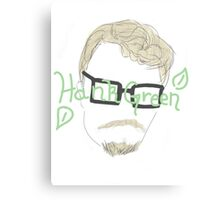 Hank Green Canvas Print
