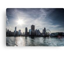Chicago Skyline - Lake Michigan Canvas Print