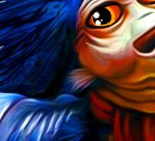 Ello Worm Painting - Labyrinth Movie  Sticker