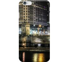 Michigan Avenue Bridge - Night iPhone Case/Skin