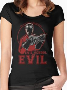 Dr. Horrible's Evil School of Evil Women's Fitted Scoop T-Shirt