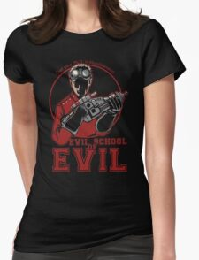 Dr. Horrible's Evil School of Evil Womens Fitted T-Shirt