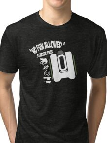 Bastion No Fun Allowed Tri-blend T-Shirt