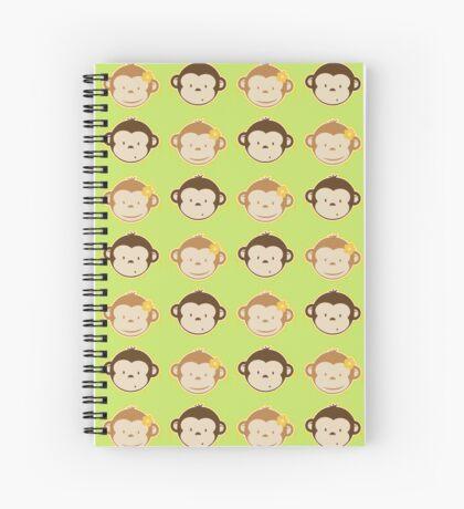 Bananas Couple Spiral Notebook
