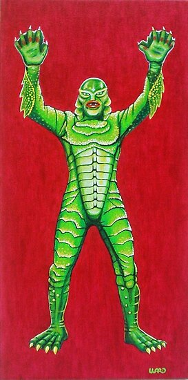 CREATURE FROM THE BLACK LAGOON by ward-art-studio