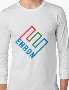 Enron Logo Long Sleeve T-Shirt
