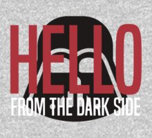 Hello From The Dark Side One Piece - Long Sleeve